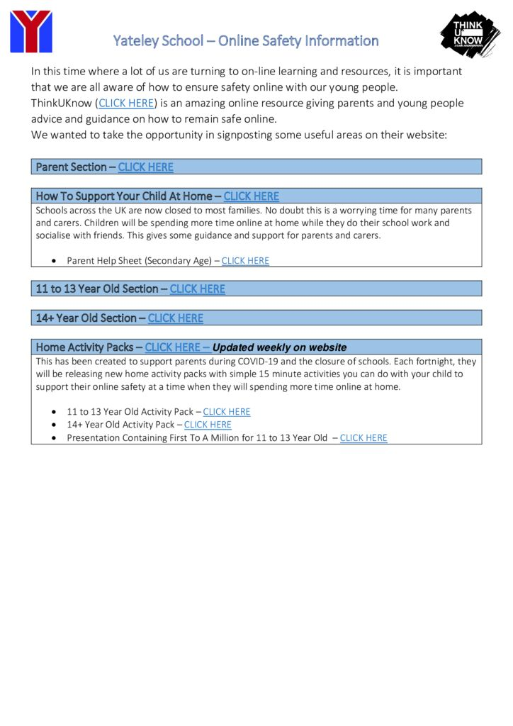 thumbnail of ESafety Information