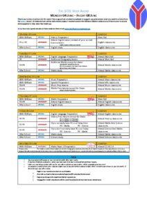 thumbnail of GCSE Week ahead – Monday 04 June – Friday 08 June