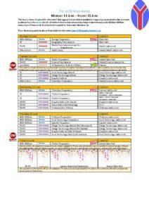 thumbnail of GCSE Week ahead – Monday 11 June – Friday 15 June