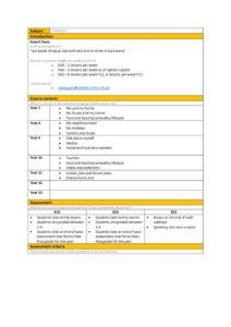 thumbnail of Languages Curriculum