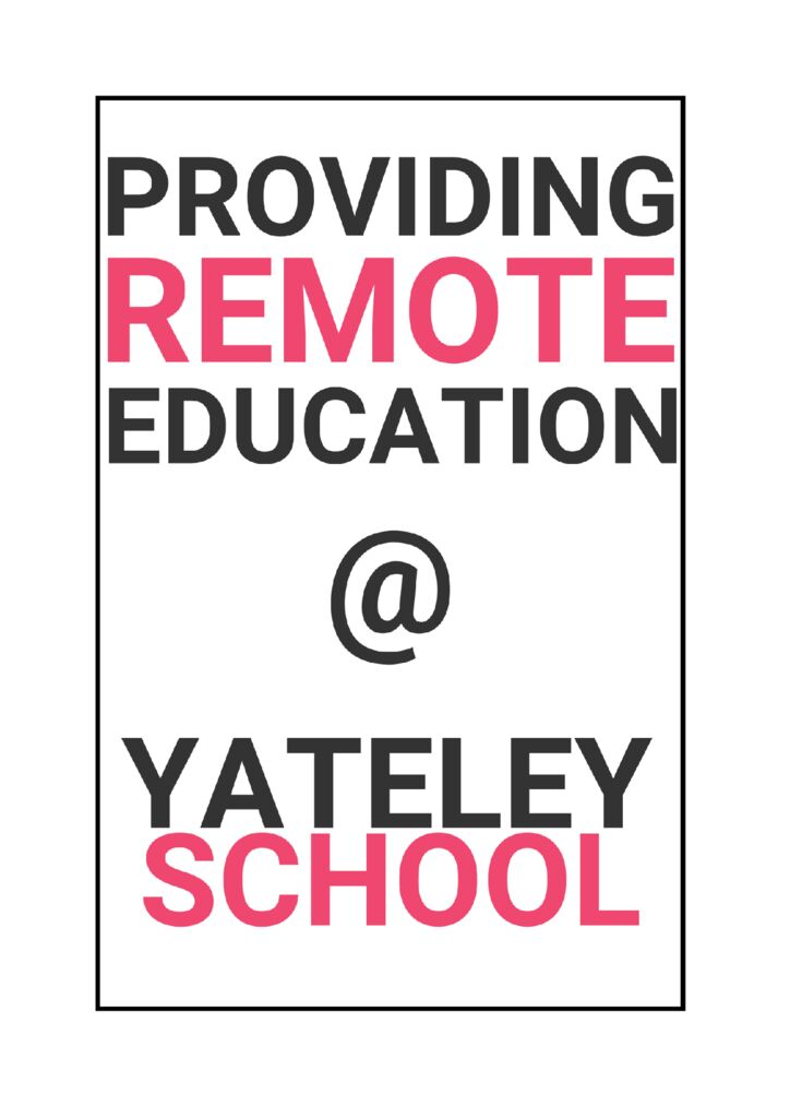thumbnail of Providing remote education – info to parents