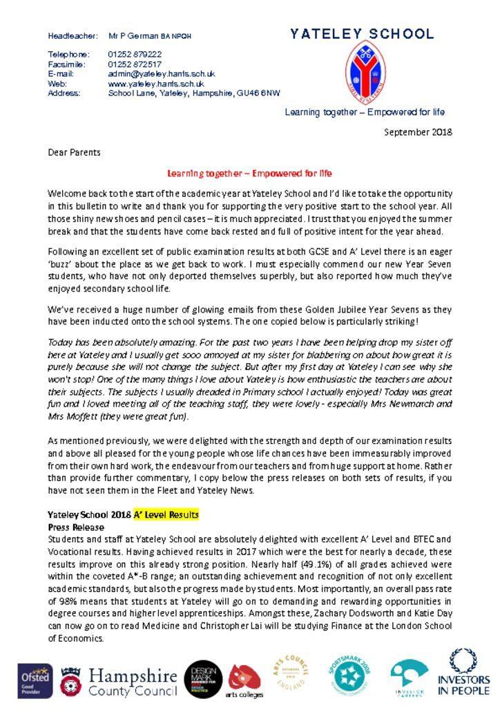 welcome back letter parents sept 18 pdf 724x1024jpg