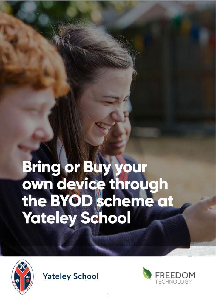 thumbnail of Yateley School BOYD Scheme Brochure 2021