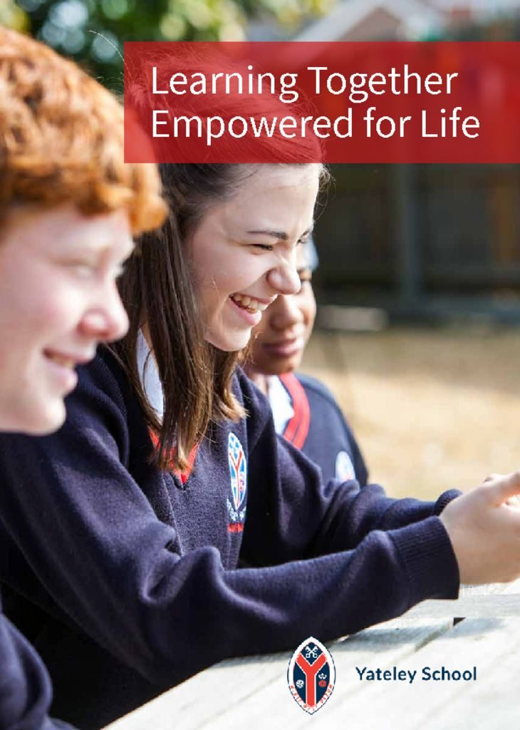 thumbnail of Yateley School Prospectus